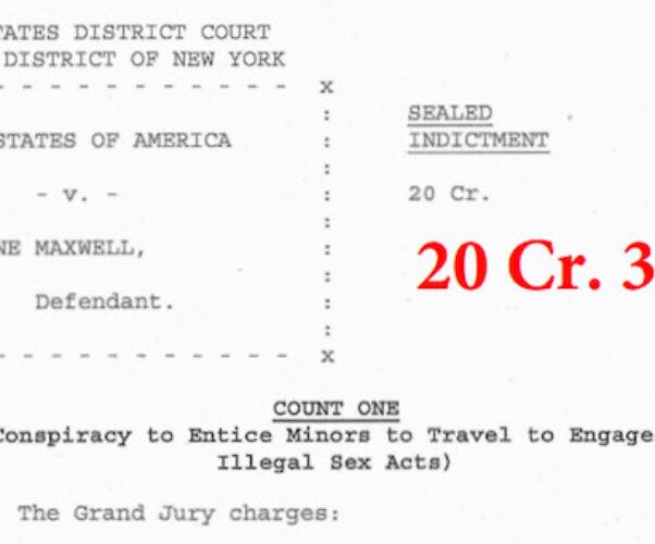 Ghislaine Maxwell arrested