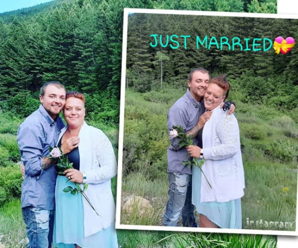 Love After Lockup Daniel Valentine married wedding photo