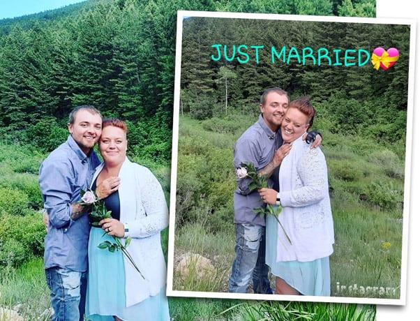 Love After Lockup Daniel Valentine married wedding photo