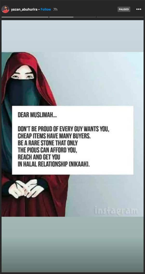 90 Day Fiance The Other Way Yazan Muslim women post