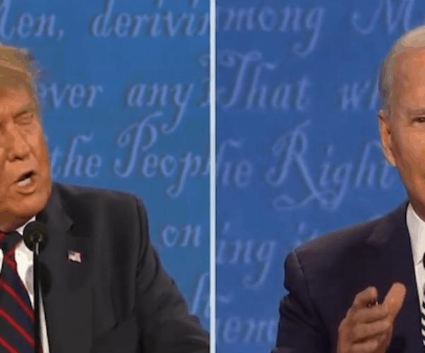 First 2020 presidential debate 2
