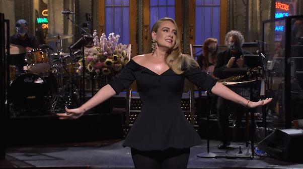 Adele hosts SNL 1