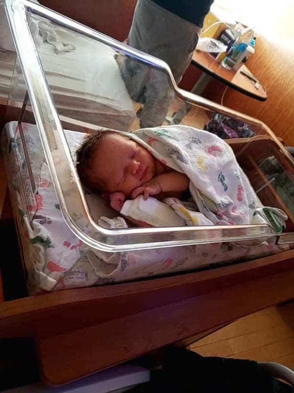 Brandi Dreier baby 2
