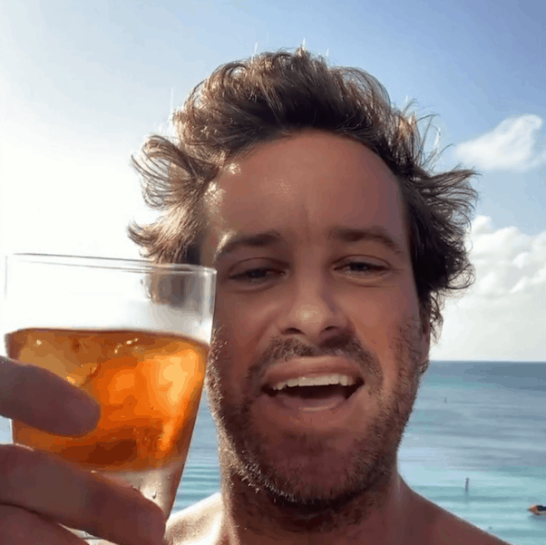 Armie Hammer expose 2