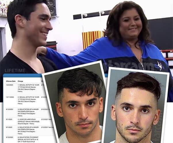 Kevin Cosculluela on Dance Moms arrested