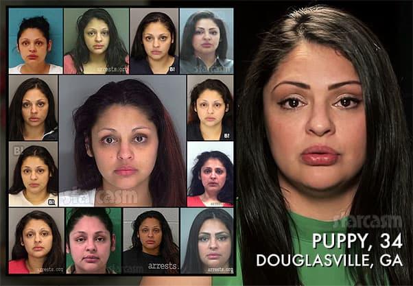Love After Lockup Puppy arrests mug shots