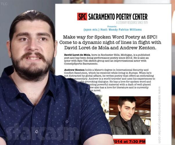 90 Day Fiance Andrew Kenton poetry reading