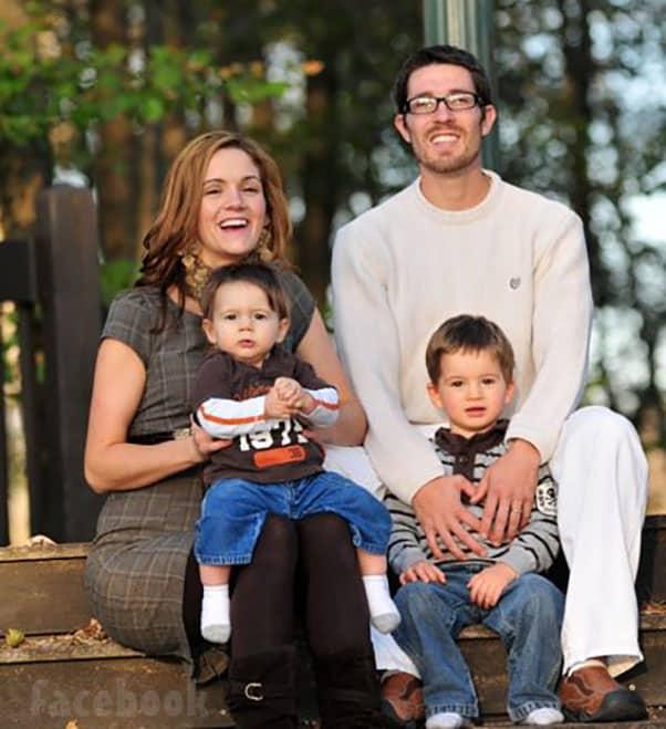 Seeking Sister Wife Garrick and Dannielle Merrifield throwback photo