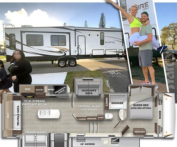 90 Day Fiance Russ and Pao RV camper photos