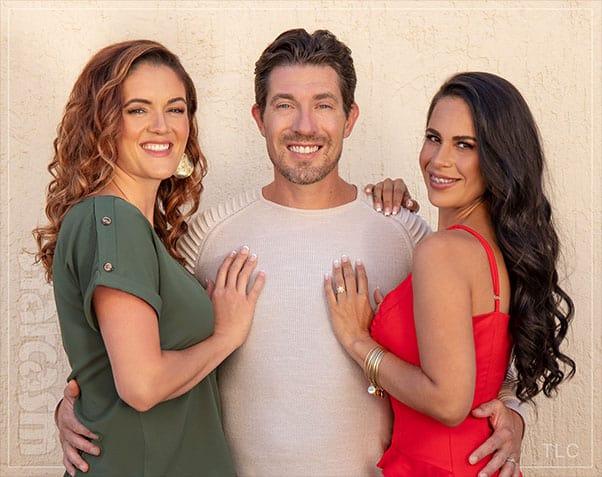 Seeking Sister Wife Dannielle and Garrick Merrifield with Roberta from Brazil