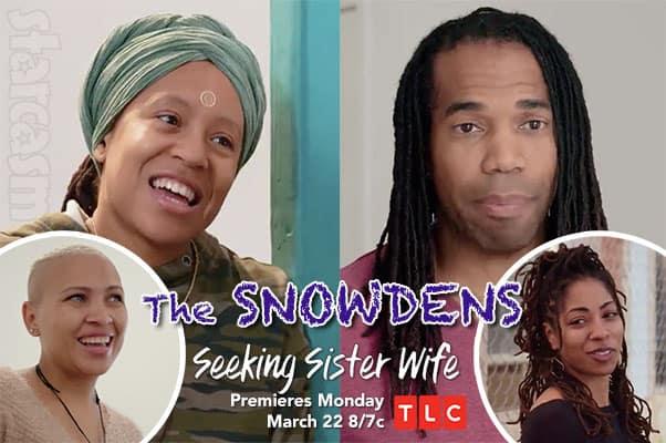 Seeking Sister Wife Season 3 Dimitri Snowden and Ashley Snowden plus Christeline and Tayler