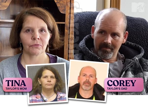 16 and Pregnant Taylor Luck's parents Tina and Corey Luck arrests