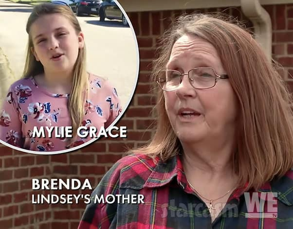 Love After Lockup Lindsey Downs' mother Brenda and daughter Mylie Grace