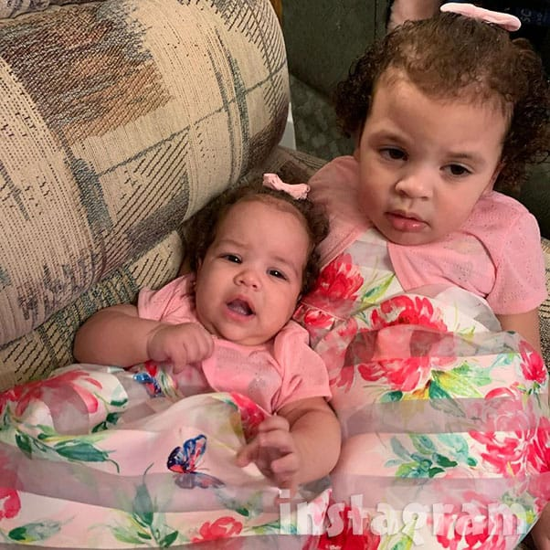 TLC Unexpected dad Alex's daughter Layla with his sister Nevaeh, his mom Julie's daughter