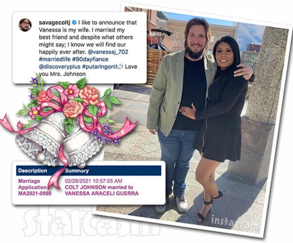 90 Day Fiance Single Life's Colt Johnson secretly married Vanessa Guerra, wedding was in Reno in February