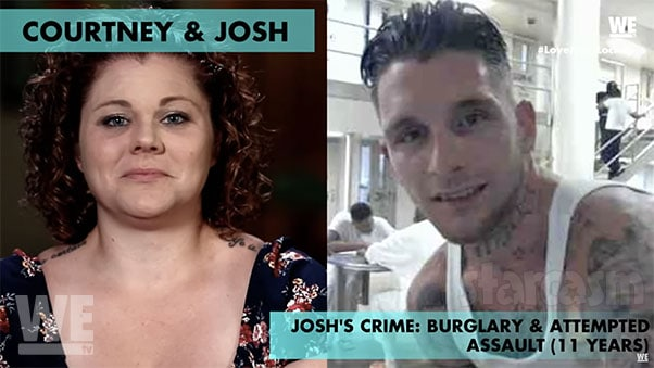 Courtney and Josh from Love After Lockup