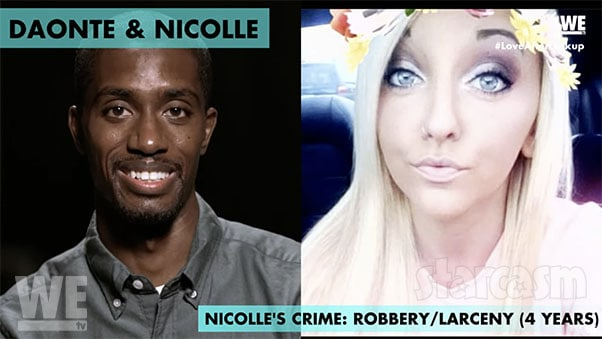 Daonte and Nicolle from Love After Lockup