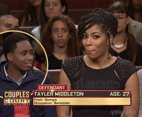 Seeking Sister Wife Tayler Middleton on Couples Court