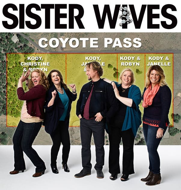 Sister Wives Coyote Pass ownership with Kody Meri Janelle Christine and Robyn