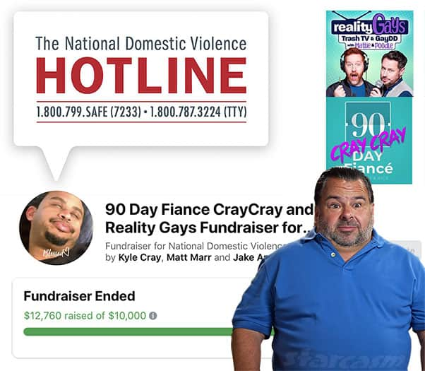 Domestic Violence Hotline fundraiser inspired by 90 Day Fiance's Big Ed Brown