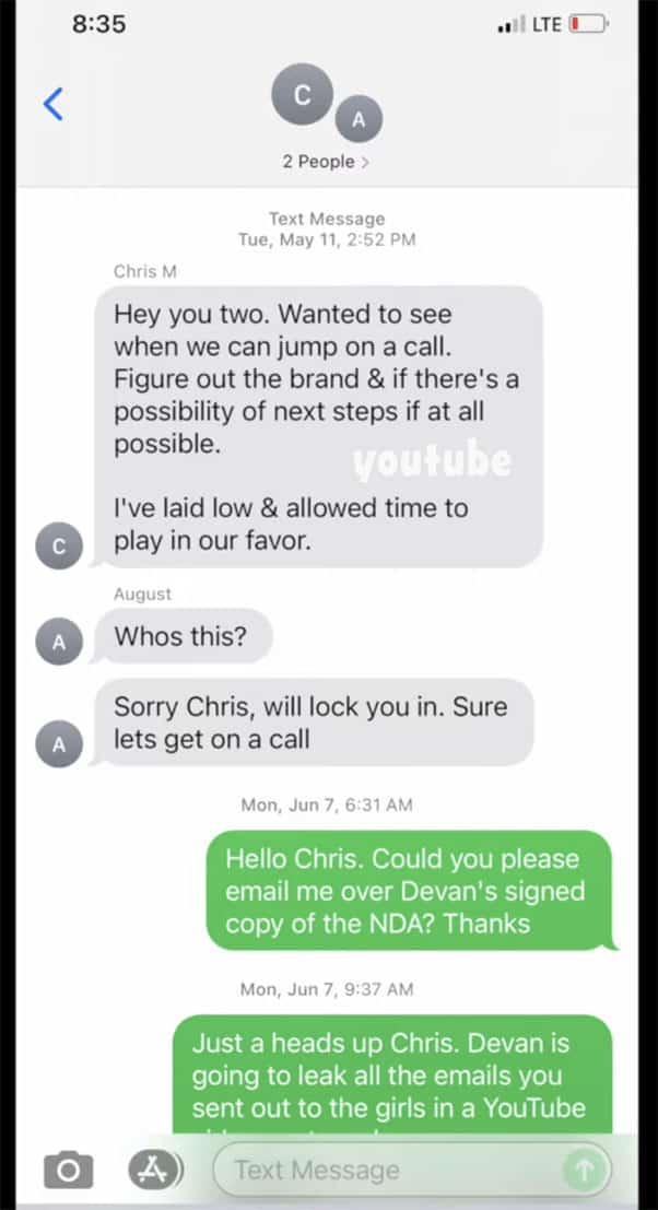 Jenelle Eason Girl Sh*t texts