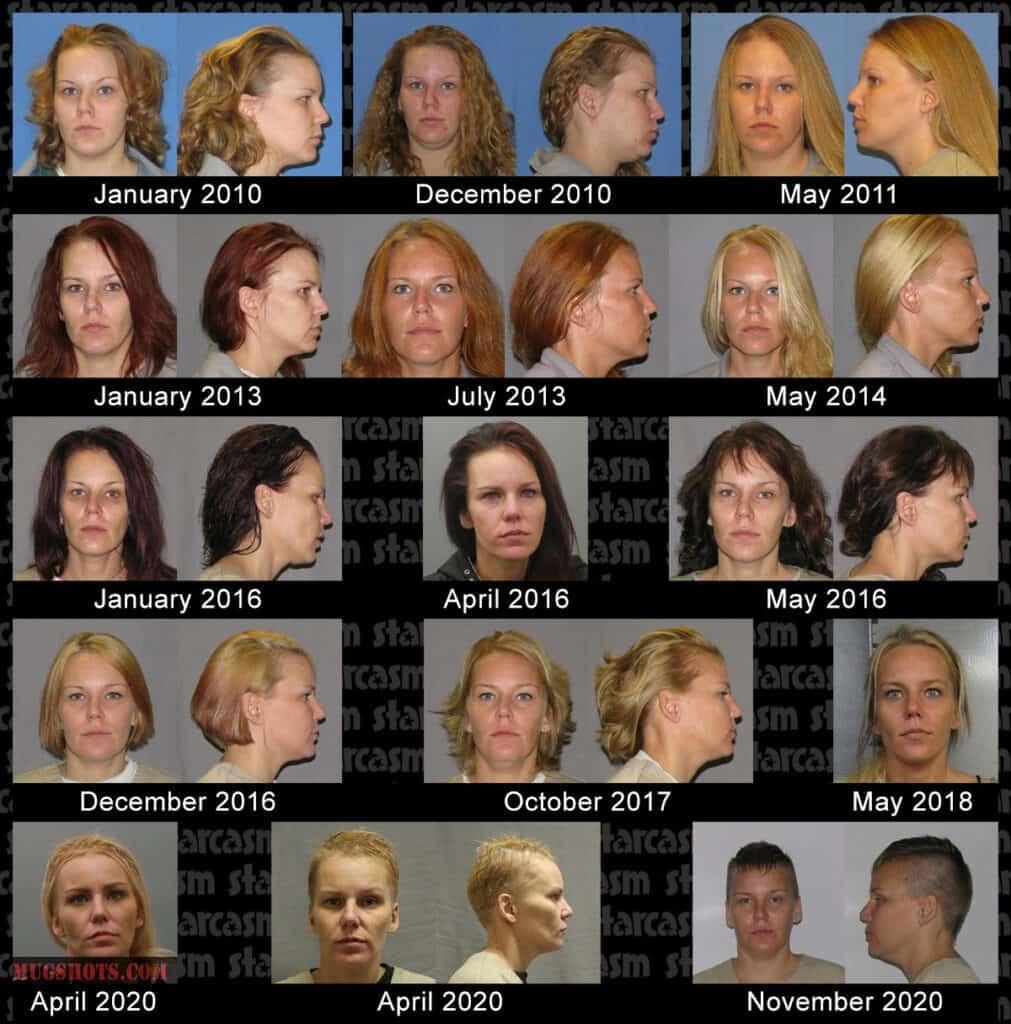 Love After Lockup Lisa mug shots timeline
