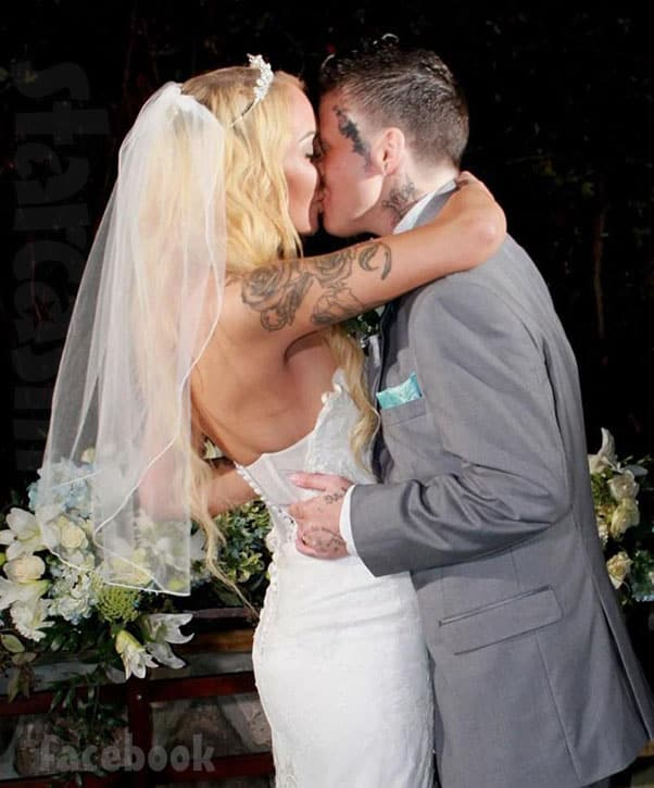 Love After Lockup Nicolle wedding photo with her wife