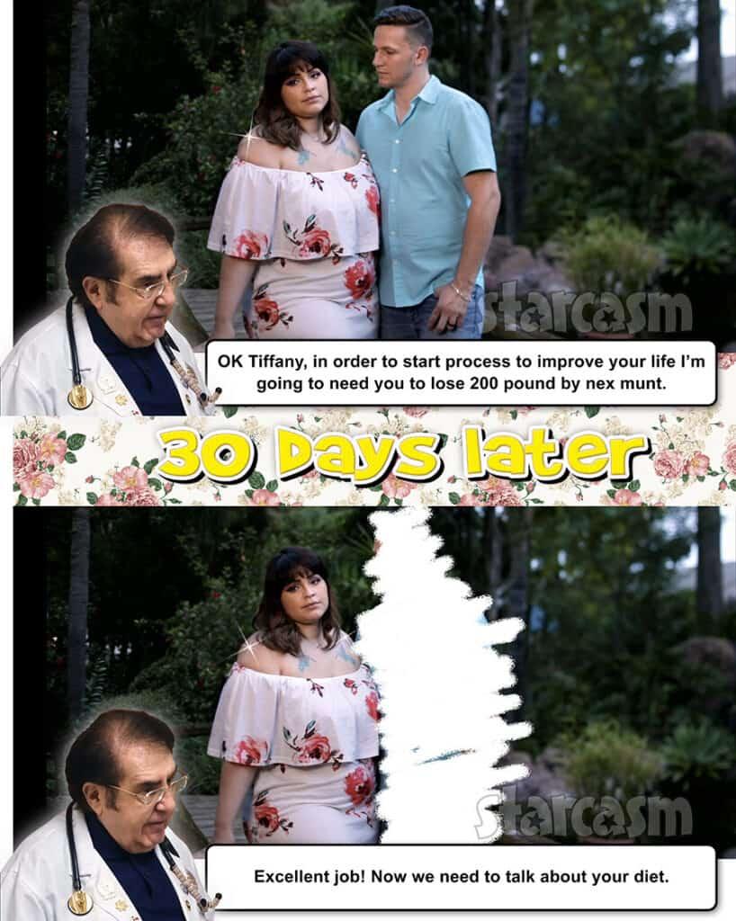 90 Day Fiance Tiffany Franco Smith My 600 Pound Life Dr Nowzaradan meme