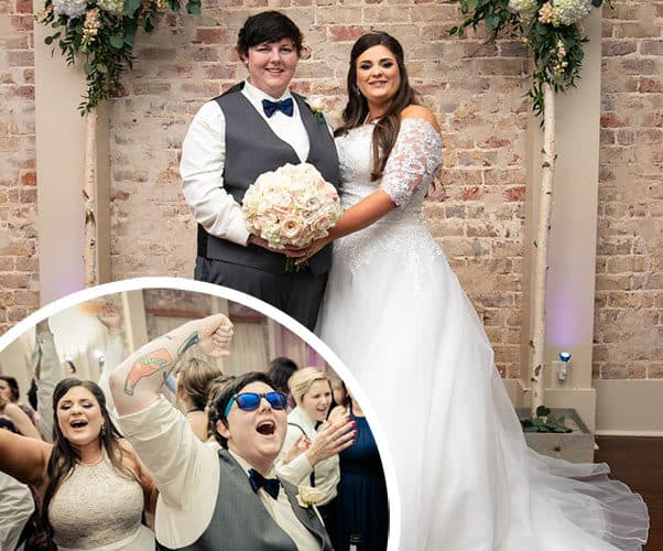TLC sMothered Lauren and Laura Leigh wedding photos
