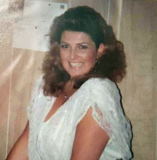 Angela Deem throwback photo brunette