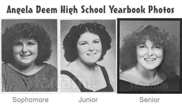 90 Day Fiance Angela Deem highs chool yearbook photos throwback