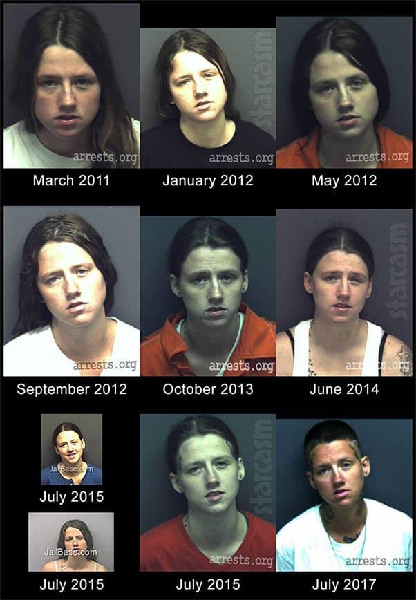 Love After Lockup Nicolle's girlfriend Tia arrests mug shots