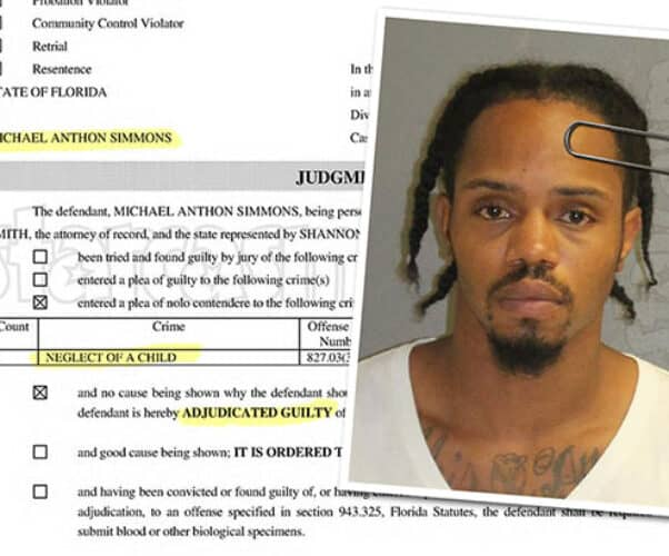 Love After Lockup Michael Simmons guilty of felony child neglect
