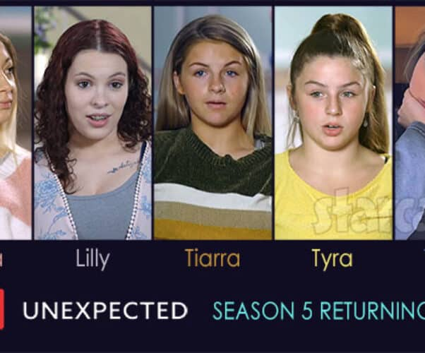 TLC Unexpected Season 5 cast will include returning moms Lilly Bennett Jenna Ronan Tyra Boisseau Tiarra Boisseau and Taylor Williams
