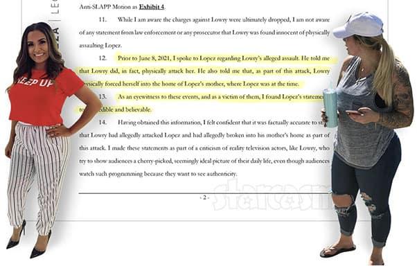 Briana DeJesus Kail Lowry lawsuit motion