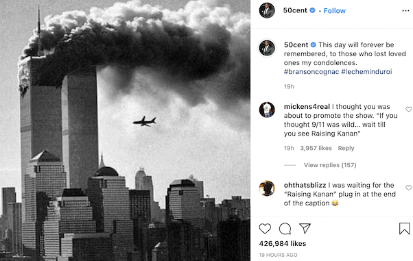 50 Cent's 9/11 post 4