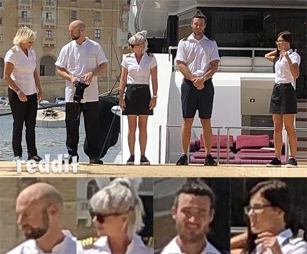 Below Deck Med Season 7 crew in Malta