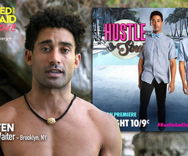 Stefen D'Angelica Naked and Afraid of Love was on the WE tv reality show Hustle and Soul